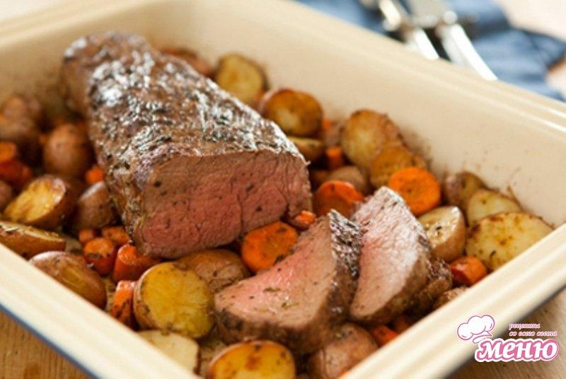 вырезка Тушеная рецепты говяжья