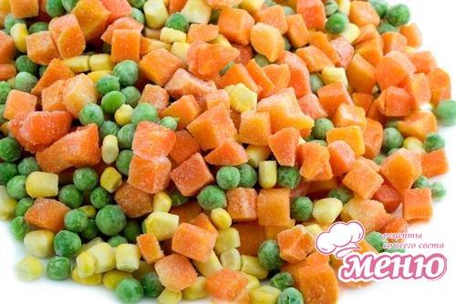 Правильная заморозка овощей